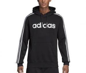 Sweat à capuche adidas Essentials 3 Stripes Noir