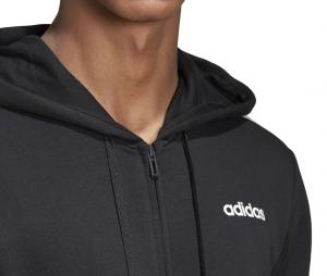 Veste à capuche adidas 3-Stripes Essentials Noir