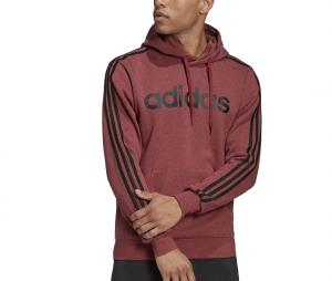 Sweat à capuche adidas Essentials 3-Stripes Rouge