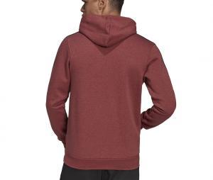 Sweat à capuche adidas Essentials 3-Stripes Rouge