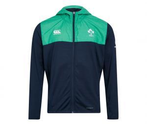 Veste à capuche Irlande Bleu/Vert