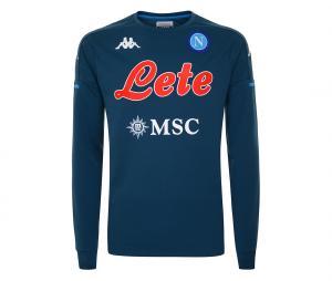 Sweat Entraînement Napoli Bleu