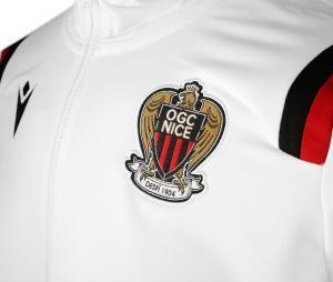 Veste à capuche OGC Nice Blanc