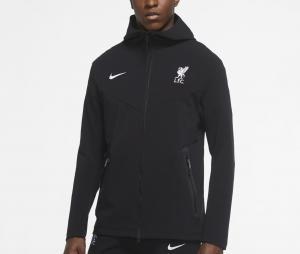 Veste à capuche Liverpool Tech Pack Noir