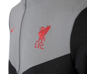 Veste à capuche Liverpool Tech Pack Noir/Gris