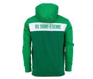 Sweat à capuche AS Saint-Etienne Fan Vert