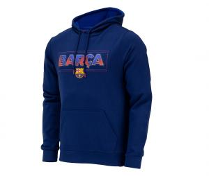 SWEAT CAPUCHE FAN FC BARCELONA