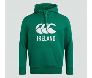 Sweat à capuche Irlande Vert