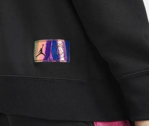 Sweat à capuche Jordan x PSG Fleece Noir