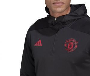 Sweat à capuche Manchester United Noir