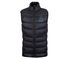 OM Casuals Sleeveless Jacket Black