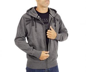 Veste à capuche Classic All Blacks Gris