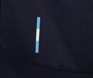 Veste à capuche OM Bleu