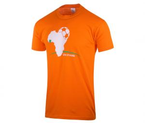 T-shirt Fan Côte d'ivoire Orange