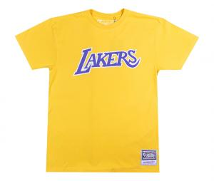 T-shirt Los Angeles Lakers Jaune