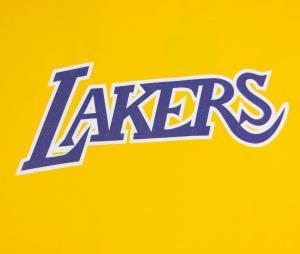 T-shirt Los Angeles Lakers Jaune