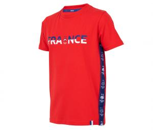 T-shirt France Rouge Junior