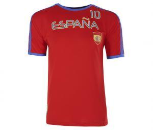 T-shirt Espagne Rouge