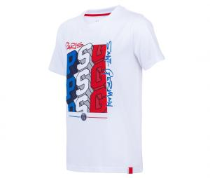T-shirt PSG Graphic Blanc Junior