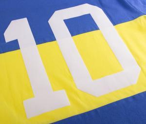 T-shirt Capitano Boca Bleu/Jaune