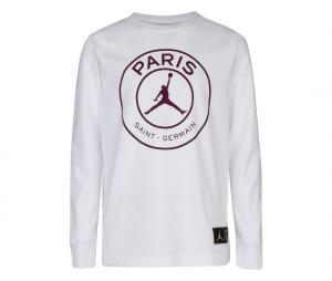 Sweat Jordan x PSG Blanc Junior