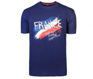 T-shirt Graphique France Bleu