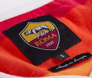 T-shirt Vintage AS Roma 1980 Blanc