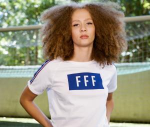 T-shirt France Cartouche Blanc Femme