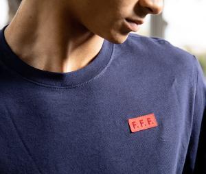 T-shirt France Voice Bleu