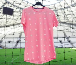 Camiseta OM Graphic Rosa Mujer