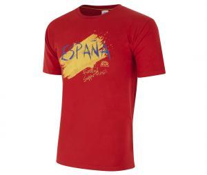 T-shirt Graphique Espagne Rouge