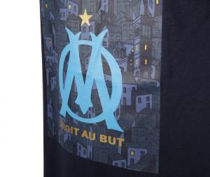 Camiseta OM Core Azul Júnior