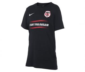 T-shirt Stade Toulousain Graphic Noir Junior