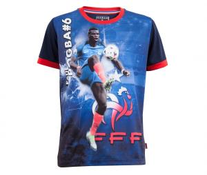T-shirt FFF Pogba Sublime Bleu Junior