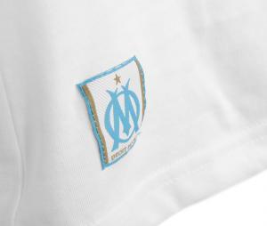 T-shirt OM Logo Fan Blanc Femme