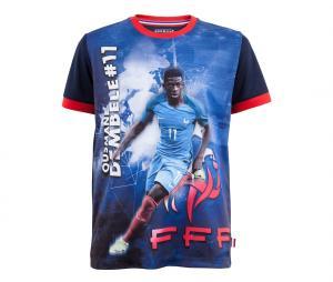 T-shirt FFF Dembélé Sublime Bleu Junior