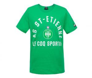 T-shirt AS Saint-Etienne Essentials N°1 Vert Junior