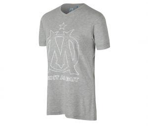 Camiseta OM Fan Gris Mujer