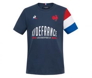 T-shirt France Rugby XV de France Bleu Junior