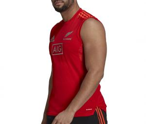 Débardeur All Blacks Rugby Performance Rouge