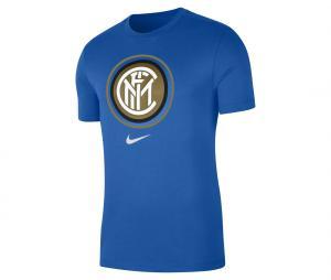 T-shirt Inter Milan Crest Bleu