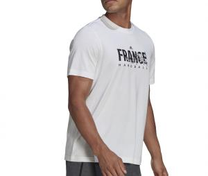 T-shirt France Handball FFHB Graphic Blanc