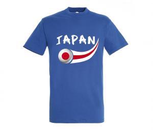 T-shirt Japon Bleu