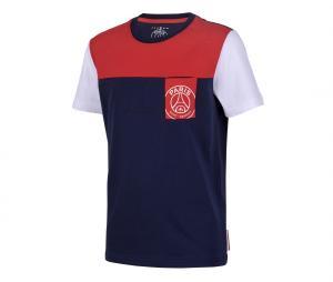 T-shirt PSG Pocket Graphic Bleu Junior