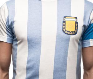 T-Shirt Vintage Argentine Capitano 10 Bleu