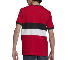 T-shirt Manchester United 3-Stripes Rouge