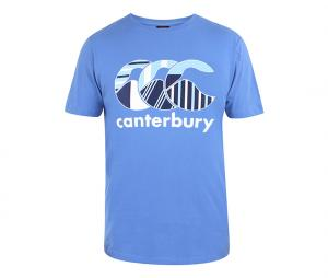 T-shirt Canterbury Uglies Club Bleu