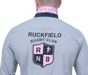 Chemise Manches Longues Ruckfield Rugby Club Bleu