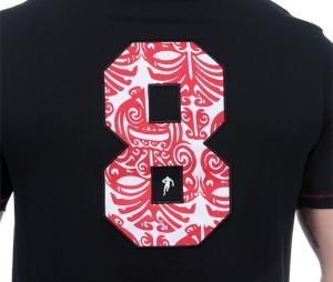 T-shirt Ruckfield Maori Noir