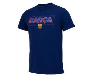 T-shirt Barça Fan Bleu Junior